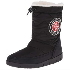 Madden Girl Icicle Faux Fur Snow Boot